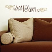 Family Forever Wall Sticker