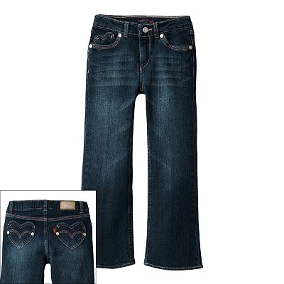 Levi's Sweetheart Flared Jeans - Girls' 4-6x