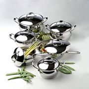 BergHOFF Professional 12 pc Stainless Steel Cookware Set