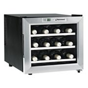 Wine Enthusiast Silent 12-Bottle Countertop Wine Refrigerator