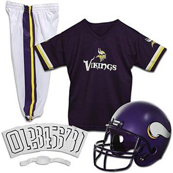 Franklin Minnesota Vikings Football Uniform