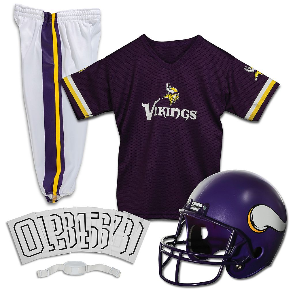 Franklin Minnesota Vikings 3-pc. Football Uniform