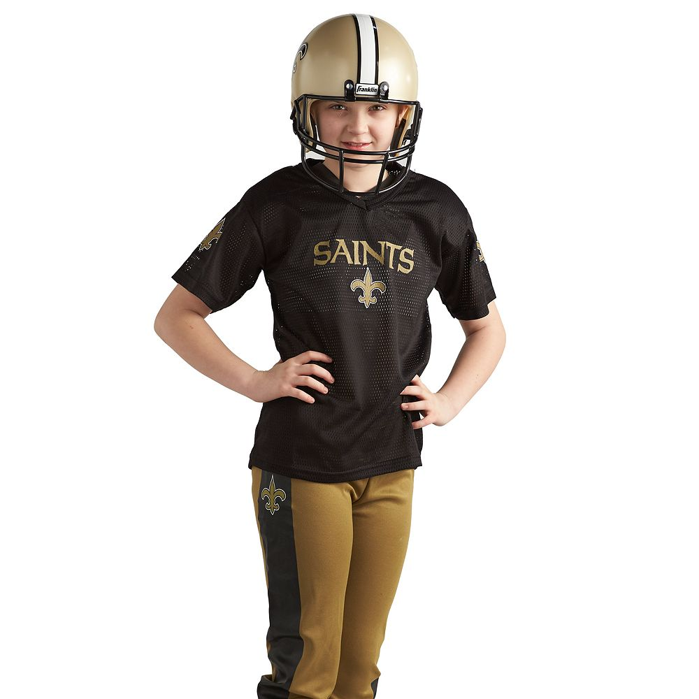 reputable site 830aa 236e3 Franklin New Orleans Saints Football Uniform