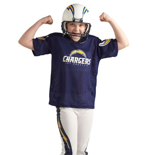 San Diego Chargers Costume: Franklin San Diego Chargers Football Uniform