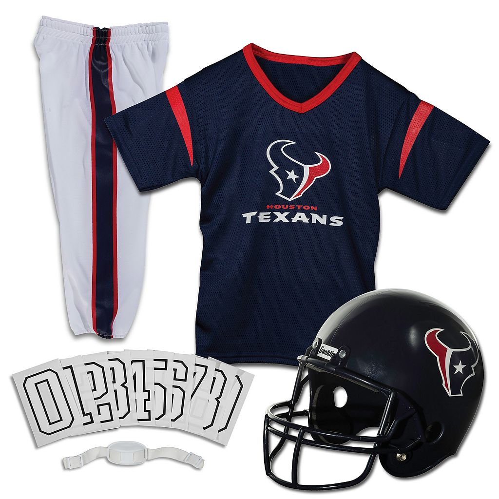 Franklin Houston Texans Football Uniform