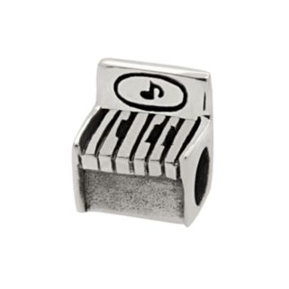 Individuality Beads Sterling Silver Piano Bead