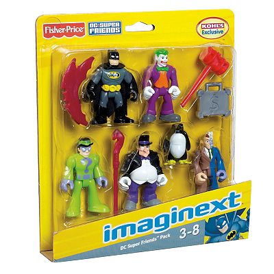 Fisher-Price Imaginext Batman Figure Set