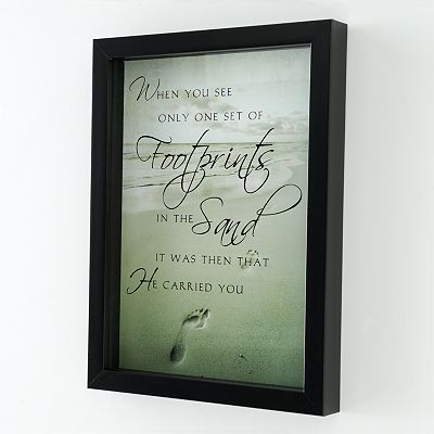 Footprints Wall Decor