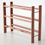 Cedar America 3-pc. Stackable Shoe Rack