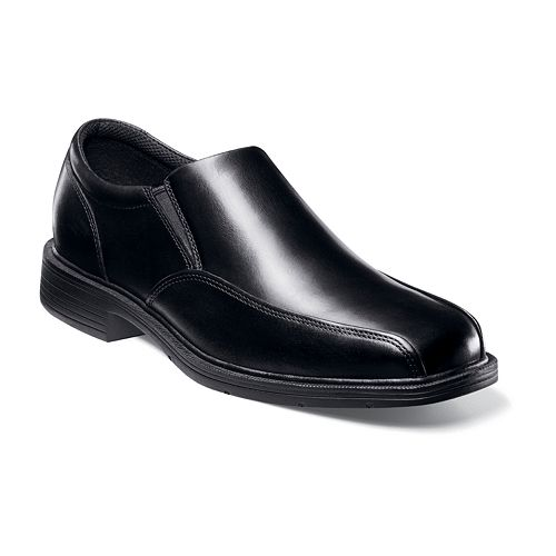Nunn Bush Jefferson Men's Bicycle toe Slip-On Dress Shoes