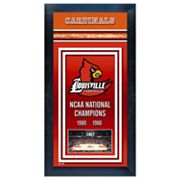 Louisville Cardinals NCAA National Champions Framed Wall Art