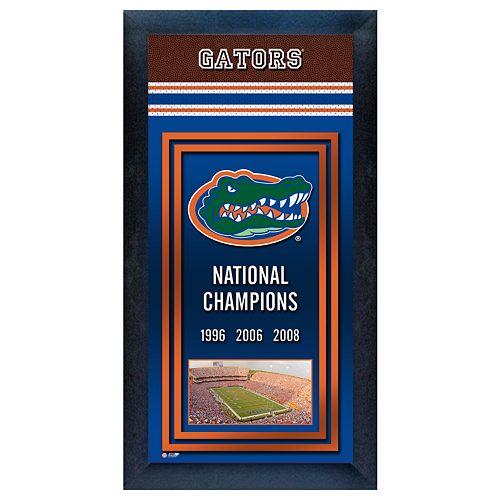 Florida Gators National Champions Framed Wall Art