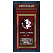 Florida State Seminoles National Champions Framed Wall Art