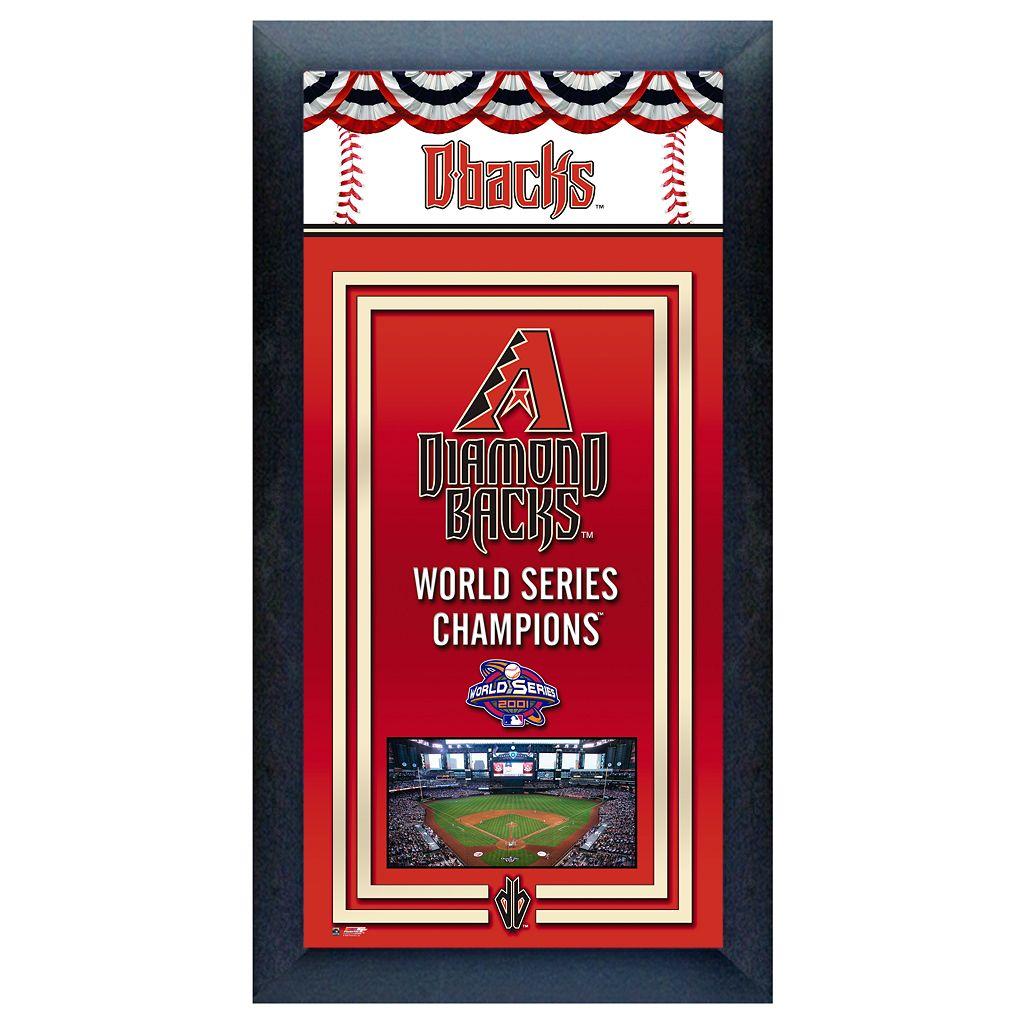 Arizona Diamondbacks World Series Champions® Framed Wall Art