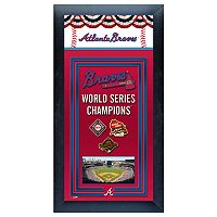 Atlanta Braves World Series Champions® Framed Wall Art