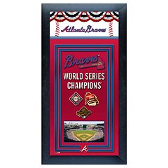 Atlanta Braves World Series Champions® Framed Wall Art
