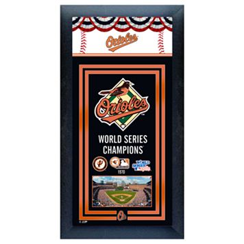 Baltimore Orioles World Series Champions® Framed Wall Art