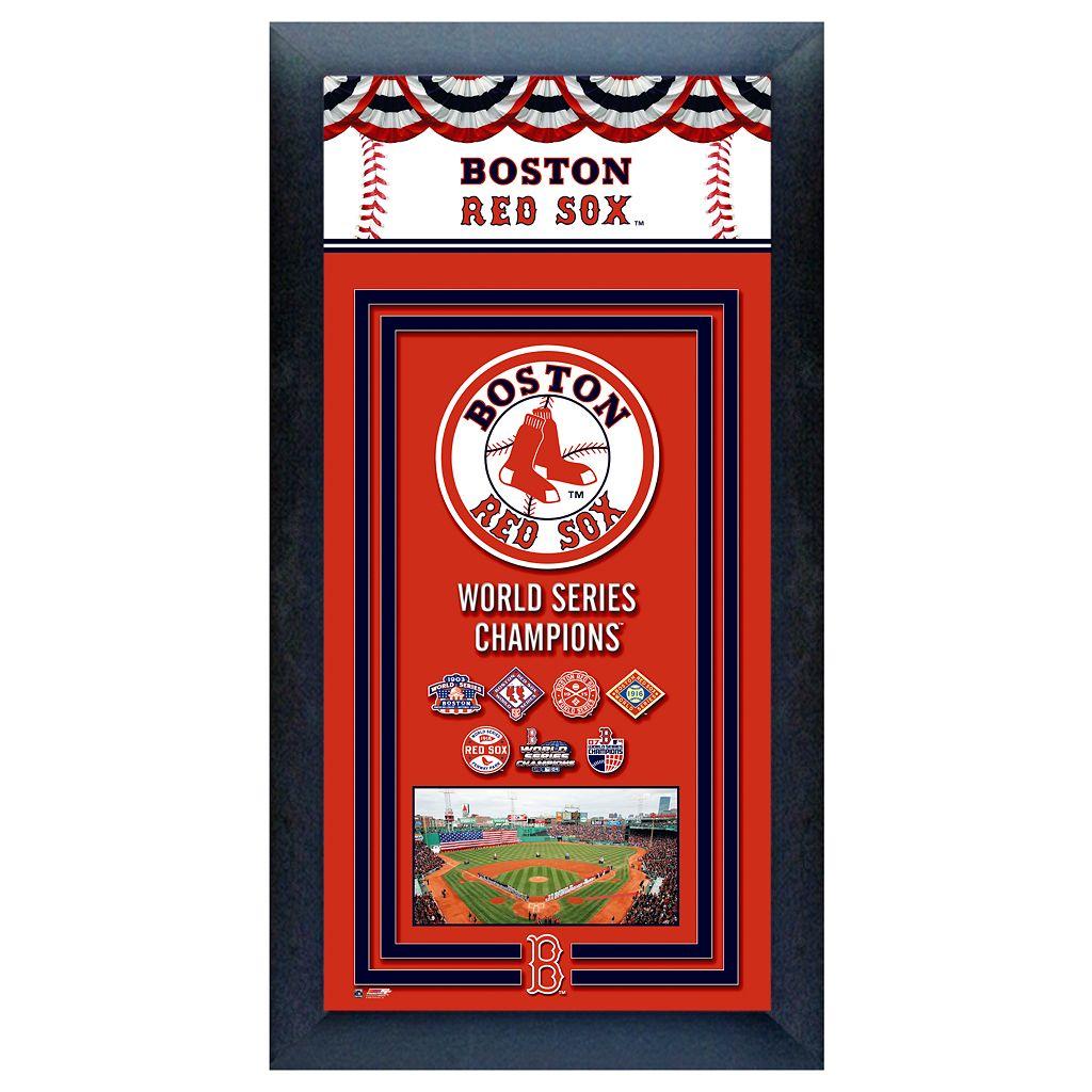 Boston Red Sox World Series Champions® Framed Wall Art