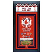 Boston Red Sox World Series Champions Framed Wall Art