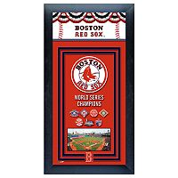 Boston Red Sox World Series Champions® Framed Wall Art
