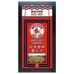 Boston Red Sox World Series Champions Framed Wall Art