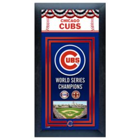 Chicago Cubs World Series Champions Framed Wall Art