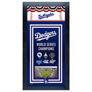 Los Angeles Dodgers World Series Champions Framed Wall Art