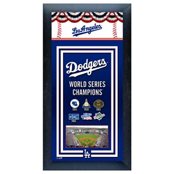 Los Angeles Dodgers World Series Champions® Framed Wall Art
