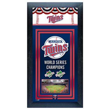 Minnesota Twins World Series Champions® Framed Wall Art
