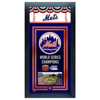 New York Mets World Series Champions Framed Wall Art