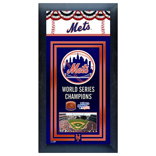 New York Mets World Series Champions® Framed Wall Art