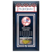 New York Yankees World Series Champions® Framed Wall Art