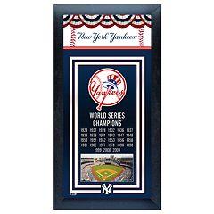 New York Yankees World Series Champions® Framed Wall Art