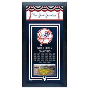 New York Yankees World Series Framed Wall Art