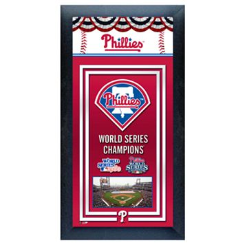 Philadelphia Phillies World Series Champions® Framed Wall Art