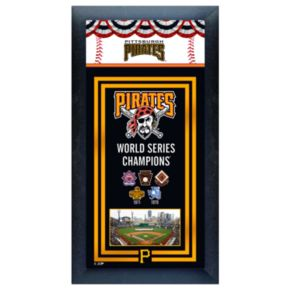 Pittsburgh Pirates World Series Champions Framed Wall Art