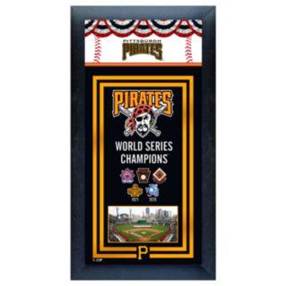 Pittsburgh Pirates World Series Champions Framed Wall Art