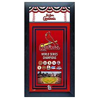 St. Louis Cardinals World Series Champions® Framed Wall Art