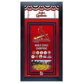 St. Louis Cardinals World Series Champions Framed Wall Art
