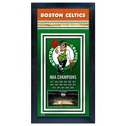 Boston Celtics NBA Champions Framed Wall Art