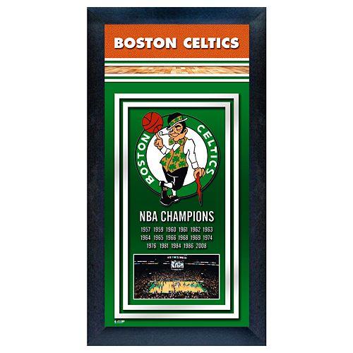 Boston Celtics NBA® Champions Framed Wall Art