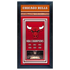 Chicago Bulls NBA® Champions Framed Wall Art