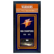 Golden State Warriors NBA Champions Framed Wall Art