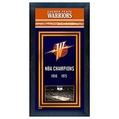 Golden State Warriors NBA® Champions Framed Wall Art