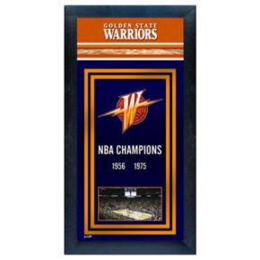 Golden State Warriors NBA Champions Framed Wall Art