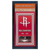 Houston Rockets NBA® Champions Framed Wall Art