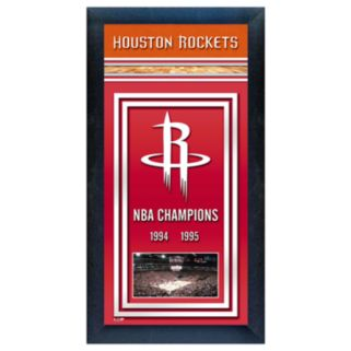 Houston Rockets NBA Champions Framed Wall Art