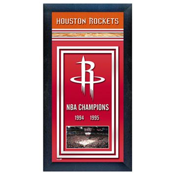 Houston Rockets NBA® Champions Framed Wall Art