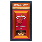 Miami Heat NBA Champions Framed Wall Art