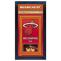 Miami Heat NBA® Champions Framed Wall Art